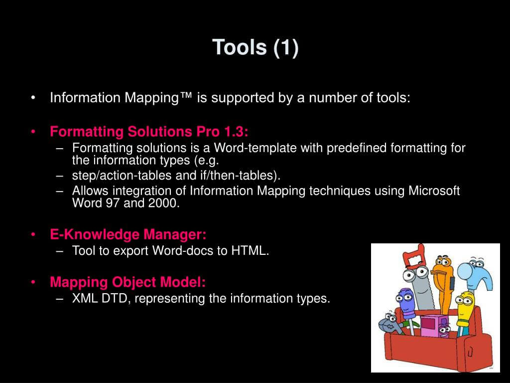 Ppt - Information Mapping Powerpoint Presentation, Free Regarding Information Mapping Word Template