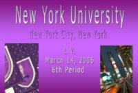 Ppt – New York University Powerpoint Presentation, Free inside Nyu Powerpoint Template