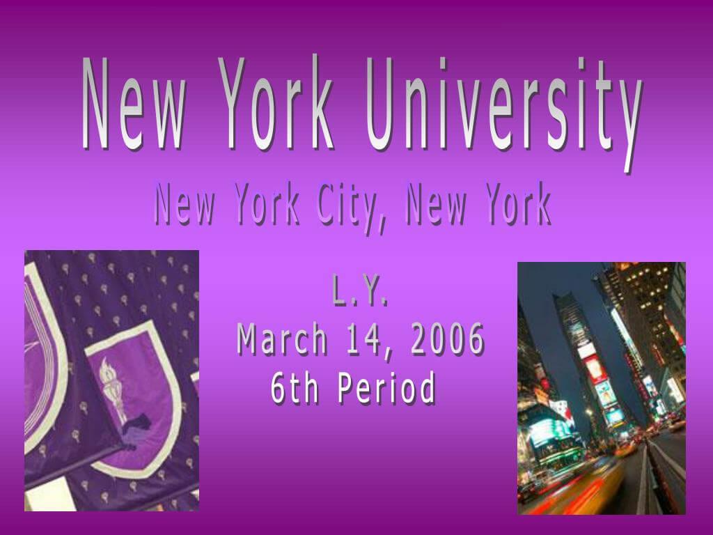 Ppt - New York University Powerpoint Presentation, Free Inside Nyu Powerpoint Template