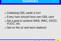 "Ppt – ""Pse Qsl"" Tried And Tested Ways To Send & Receive Qsl inside Qsl Card Template"