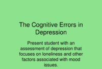 Ppt – The Cognitive Errors In Depression Powerpoint within Depression Powerpoint Template