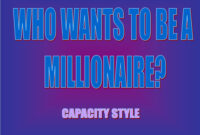 Ppt – Who Wants To Be A Millionaire? Powerpoint Presentation with Who Wants To Be A Millionaire Powerpoint Template