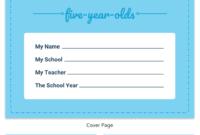 Pre-K Progress Report pertaining to Preschool Weekly Report Template