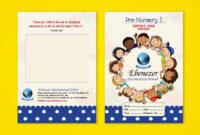 Pre-Nursery Report Card On Behance | Report Card Template in Boyfriend Report Card Template