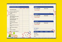 Pre Nursery Report Card On Behance | Report Card Template Pertaining To High School Student Report Card Template
