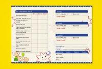Pre-Nursery Report Card On Behance | Report Card Template with Kindergarten Report Card Template