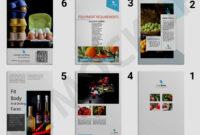 Premium Wine Brochure Template | Eymockup with regard to Wine Brochure Template