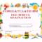 Preschool Graduation Certificate Template Free | Graduation with Certificate Templates For School