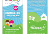 Preschool Poster Template Design | Starting A Daycare for Play School Brochure Templates