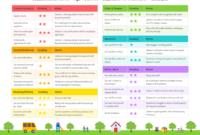Preschool Progress Report within Preschool Weekly Report Template