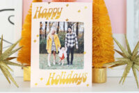 Print Your Own Holiday Cards (Free Template Included!) – A with regard to Print Your Own Christmas Cards Templates