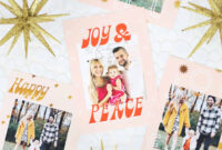 Print Your Own Holiday Cards (Free Template Included throughout Print Your Own Christmas Cards Templates