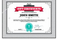 Printable 025 Google Docs Gift Certificate Template Special in Automotive Gift Certificate Template