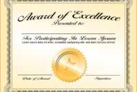 Printable 027 Certificate Of Achievement Template Word inside Certificate Of Achievement Template Word