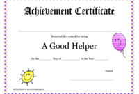 Printable Award Certificates For Teachers | Good Helper intended for Student Of The Year Award Certificate Templates