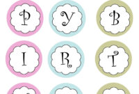 Printable Banners Templates Free | Print Your Own Birthday pertaining to Letter Templates For Banners
