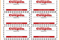 Printable Blank Coupon Template – Zimer.bwong.co throughout Blank Coupon Template Printable