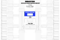 Printable Bracket 2018: Get Your Blank Version Here for Blank Ncaa Bracket Template