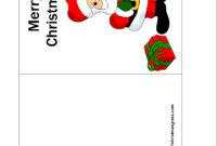 Printable Christmas Cards Templates – Christmas Printables throughout Printable Holiday Card Templates
