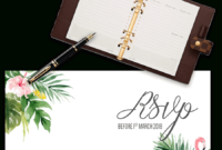 Printable Free Wedding Rsvp Template & Cards Microsoft Word within Acceptance Card Template
