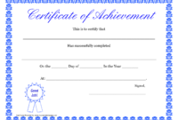Printable Hard Work Certificates Kids | Printable with Free Printable Student Of The Month Certificate Templates