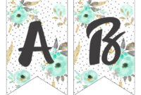 Printable Letter For Banners – Zimer.bwong.co throughout Printable Letter Templates For Banners