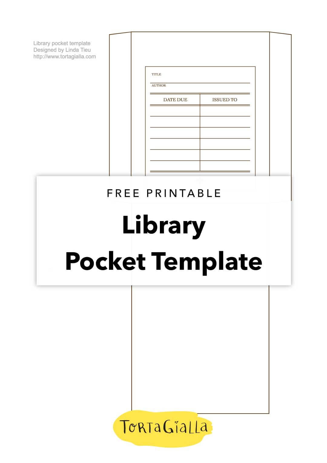 Printable Library Card Template - Free Download | Templates With Library Catalog Card Template