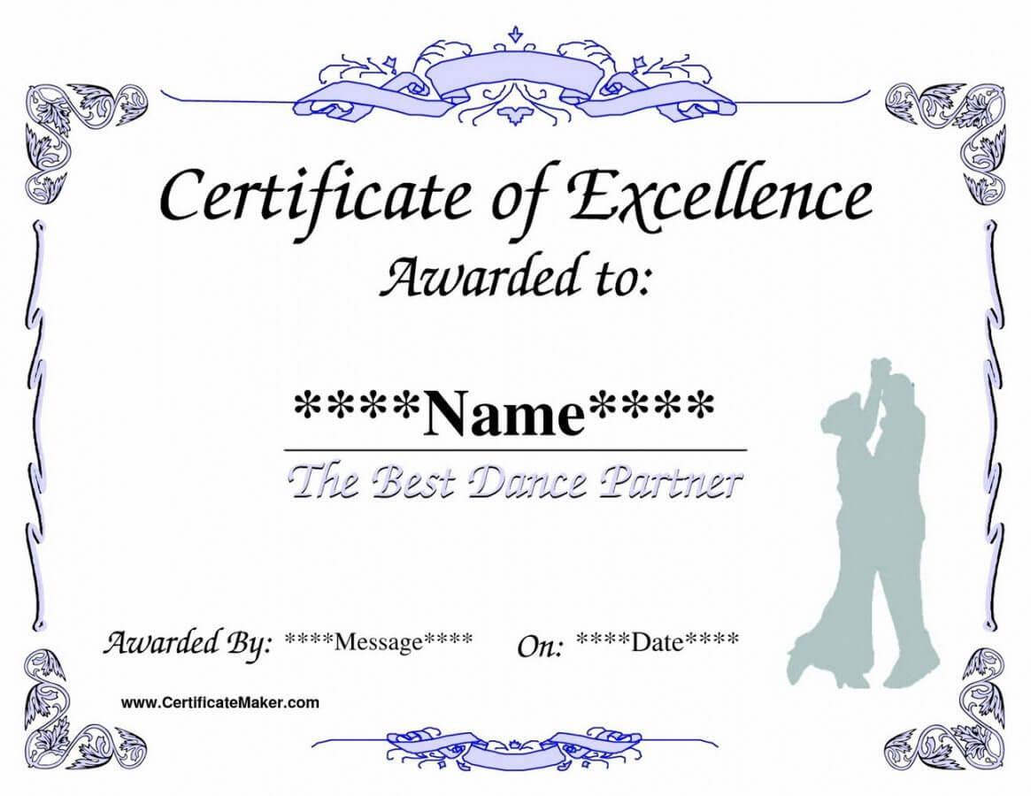 Printable Life Saving Award Certificate Template Templates Within Life Saving Award Certificate Template