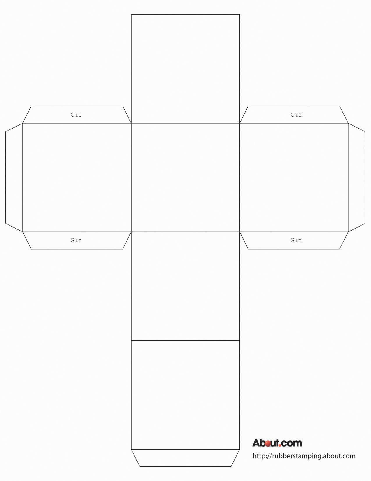 Printable Paper Box Templates | Paper Box Template, Box Within Card Box Template Generator
