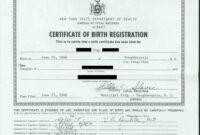 Printable Sensational Official Birth Certificate Template pertaining to Birth Certificate Template Uk