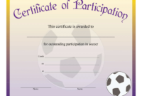 Printable Soccer Achievement Certificate – Free Download throughout Soccer Certificate Templates For Word