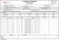 Product Detail Regarding Welding Inspection Report Template