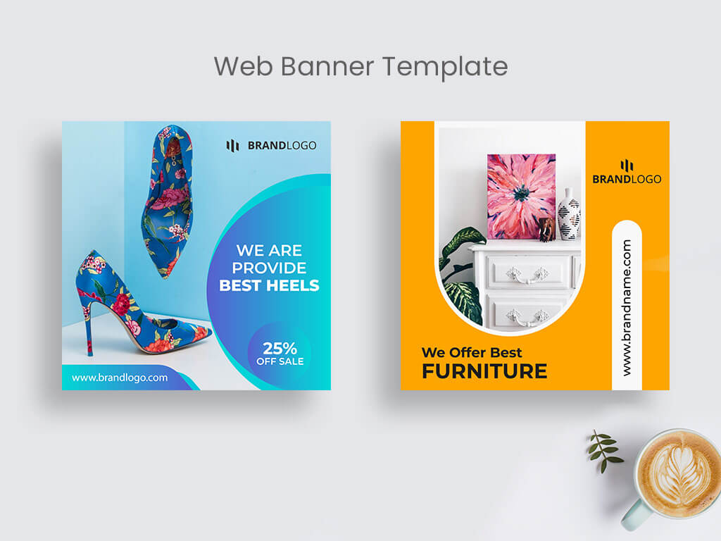 Product Sale Web Banner Template | Social Media Post On Behance Regarding Product Banner Template