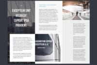 Professional Brochure Templates   Adobe Blog with regard to Illustrator Brochure Templates Free Download