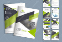 Professional Business Brochure, Template Or Flyer Set. Stock intended for Professional Brochure Design Templates