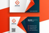 Professional Business Card Template Design throughout Download Visiting Card Templates