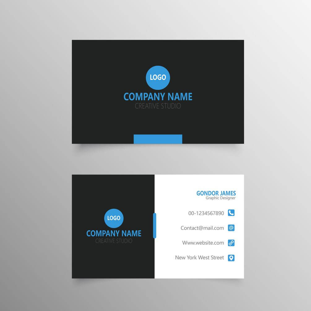 Professional Business Card Template Free Download | Free Inside Professional Business Card Templates Free Download