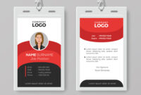 Professional Employee Id Card Template within Sample Of Id Card Template
