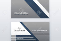 Professional Modern Business Card Creative Template Design intended for Modern Business Card Design Templates
