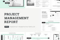 Project Management Report Presentation Templatejetz within Strategic Management Report Template