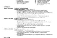 Project Manager Resume Template For Microsoft Word | Livecareer with regard to How To Find A Resume Template On Word