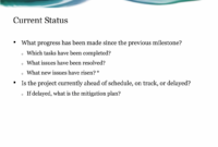 Project Status Report Presentation Template For Powerpoint intended for Project Status Report Template Word 2010