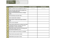 Projecttus Ppt Template Free Download Management Report Word in Closure Report Template