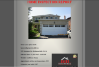 Property Condition Assessment Report Template ] – Property regarding Property Condition Assessment Report Template