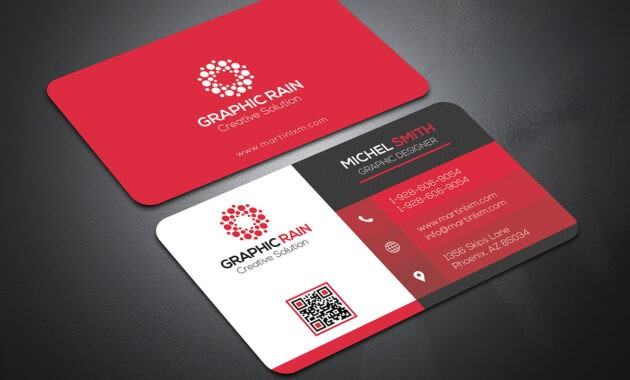 Psd Business Card Template On Behance intended for Calling Card Template Psd