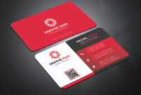 Psd Business Card Template On Behance within Psd Name Card Template