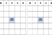 Pumpkin Bingo Cards | Get Free Printable Page From Paul's in Ice Breaker Bingo Card Template