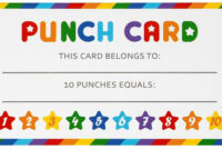 Punch Card Download Pdf/21 Punch Cards Pdf File/to Do Punch Pertaining To Free Printable Punch Card Template