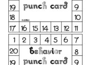 Punch Card Template Free ] – Free Printable Punch Card Within Free Printable Punch Card Template