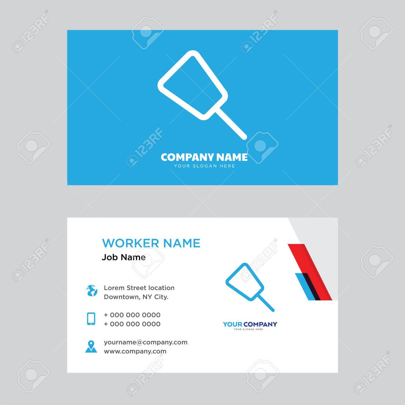 Push Pin Business Card Design Template, Visiting For Your Company,.. Regarding Push Card Template